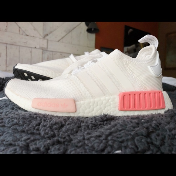 adidas Shoes - Adidas NMD R1 White Rose 4d04f1b81